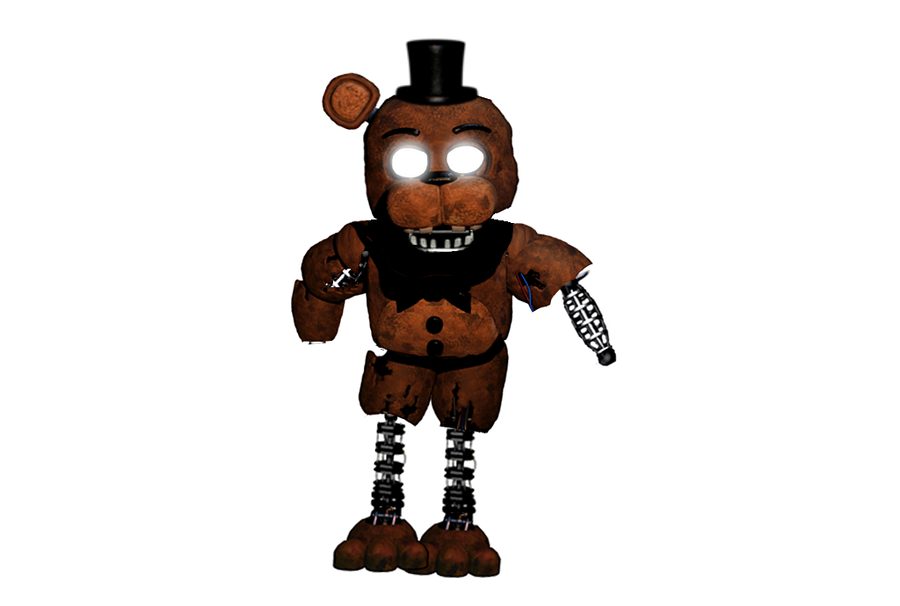 how to draw withered freddy body