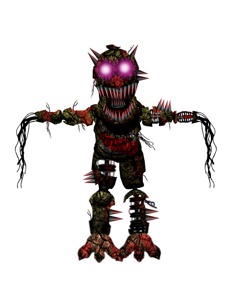 Nightmare withered chica by lukasemanuel12 on deviantart
