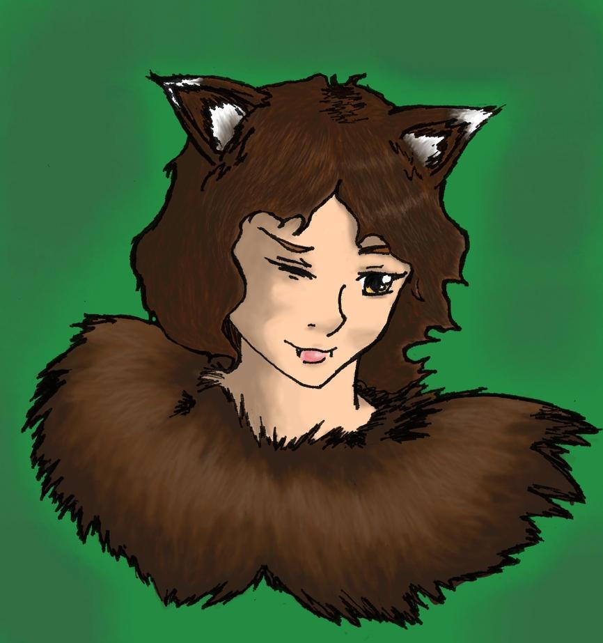 Maaki the Wolf by mistformsquirrel