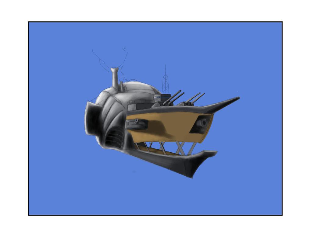 HMS Sif - MK 2 WIP by mistformsquirrel