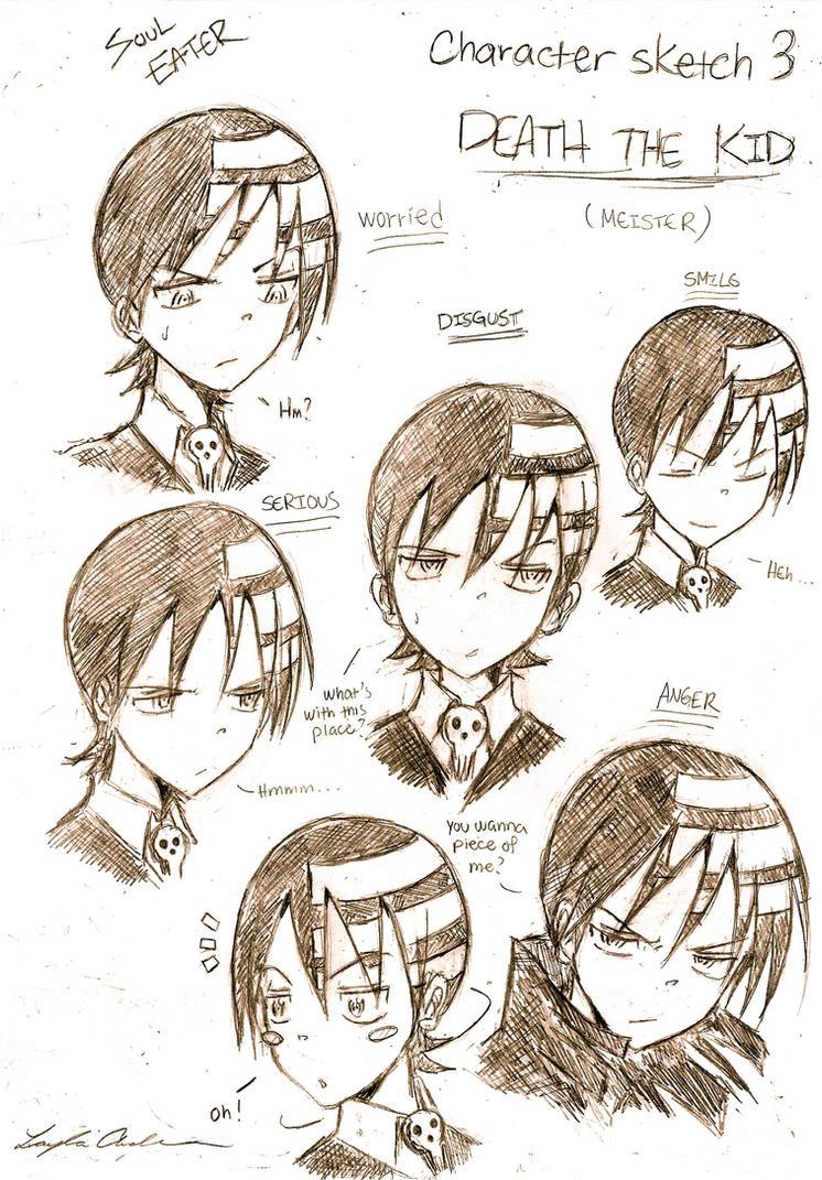 Character sketches- Kid by ukalayli