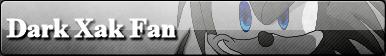 Dark Xak The Hedgehog Button by X-A-K