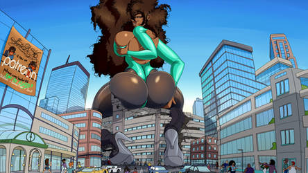 Power and Passion - Giantess
