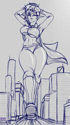 Chapiteau - Giantess Sketch Request
