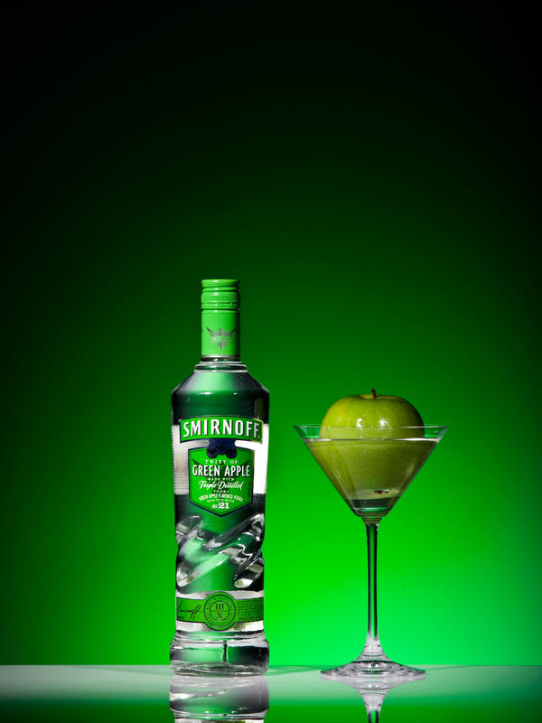 Green Apple Vodka by Jiggydude321