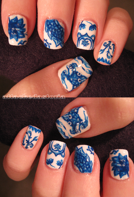 ming dynasty nails by xtheungodx