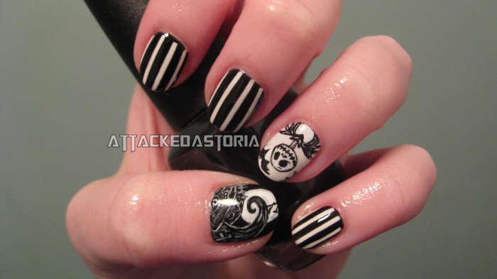 nightmare before christmas nails by xtheungodx ... - Nightmare Before Christmas Nails By Xtheungodx On DeviantArt