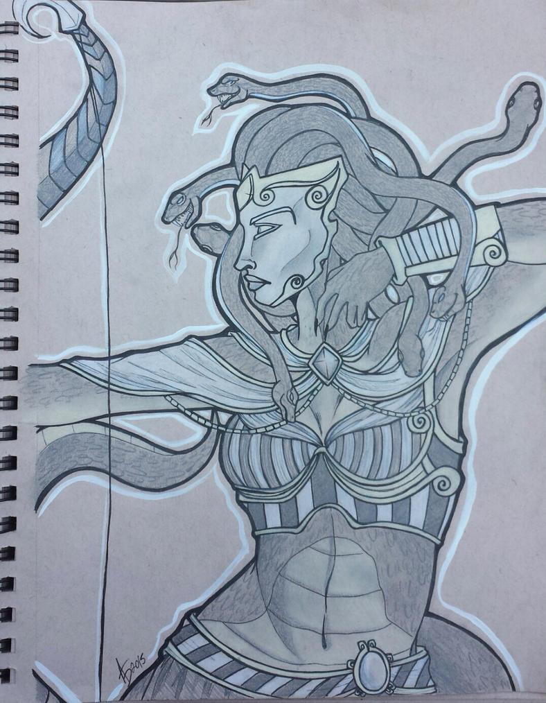 Smite Medusa by xtheungodx