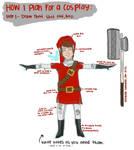 cosplay plan: goron tunic link
