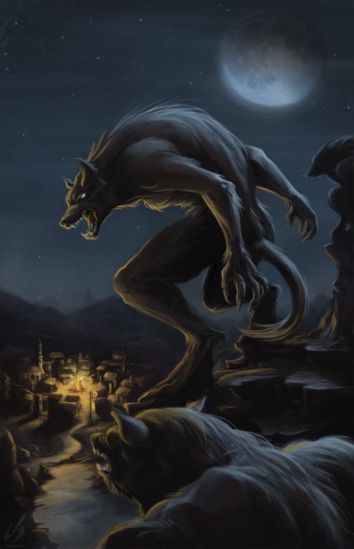 Werewolf Attack (Old version) by LauraBevon