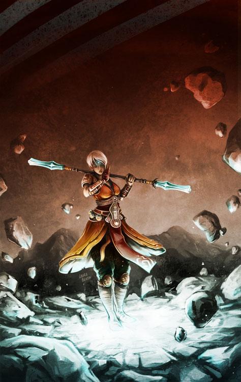 Monial Mantra - Diablo 3 by LauraBevon