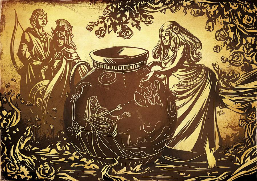 Persephone Myth by LauraBevon on DeviantArt