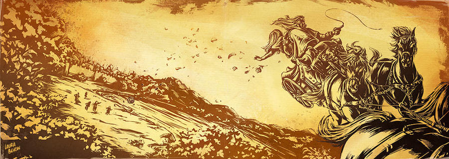 Persephone Myth X - Seasons by LauraBevon on DeviantArt