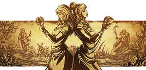 Persephone Myth X - Seasons by LauraBevon