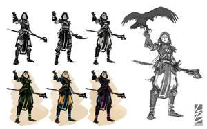 Concept - The wizard sentinel by LauraBevon