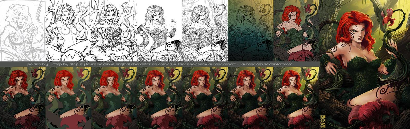 Ivy - Detailed WIP by LauraBevon