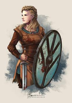 [Fanart] Lagertha - Vikings