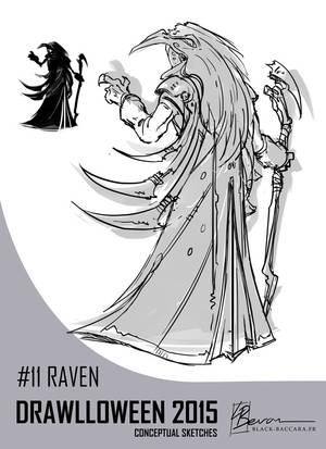 DH11 raven by laurabevon by LauraBevon
