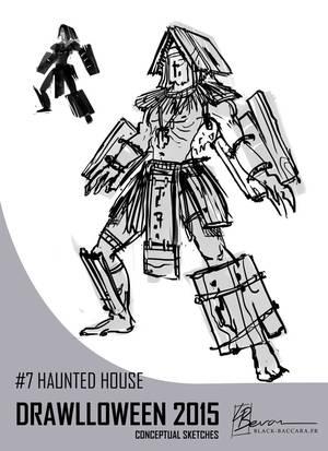 DH7 hauntedhouse by laurabevon by LauraBevon