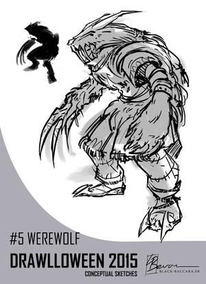 DH5 werewolf by laurabevon by LauraBevon