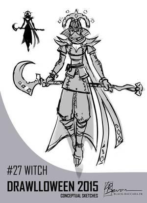 DH27 witch by laurabevon by LauraBevon
