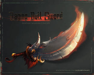 Raging Bull Sword by LauraBevon