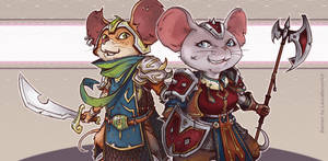 Commission #11 - Mice Banner