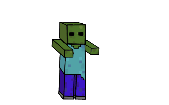 Minecraft zombie by haydenr999 on deviantart - Zombie style minecraft ...