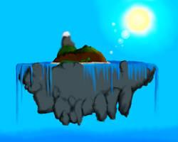 Floating Island by HaydenR999