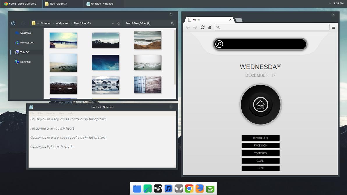 Ketan Hitam Desktop by Qonqueror99