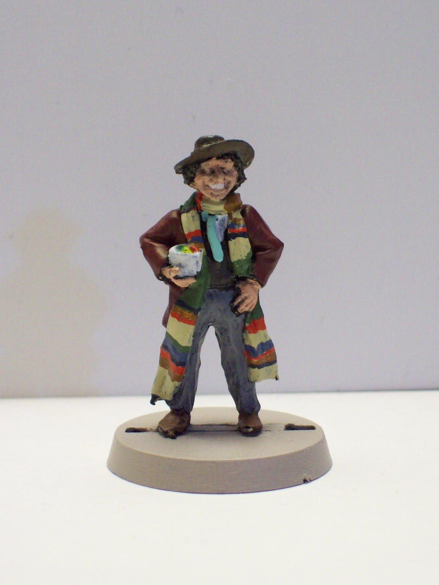 The Fourth Doctor by DoctorVorlon