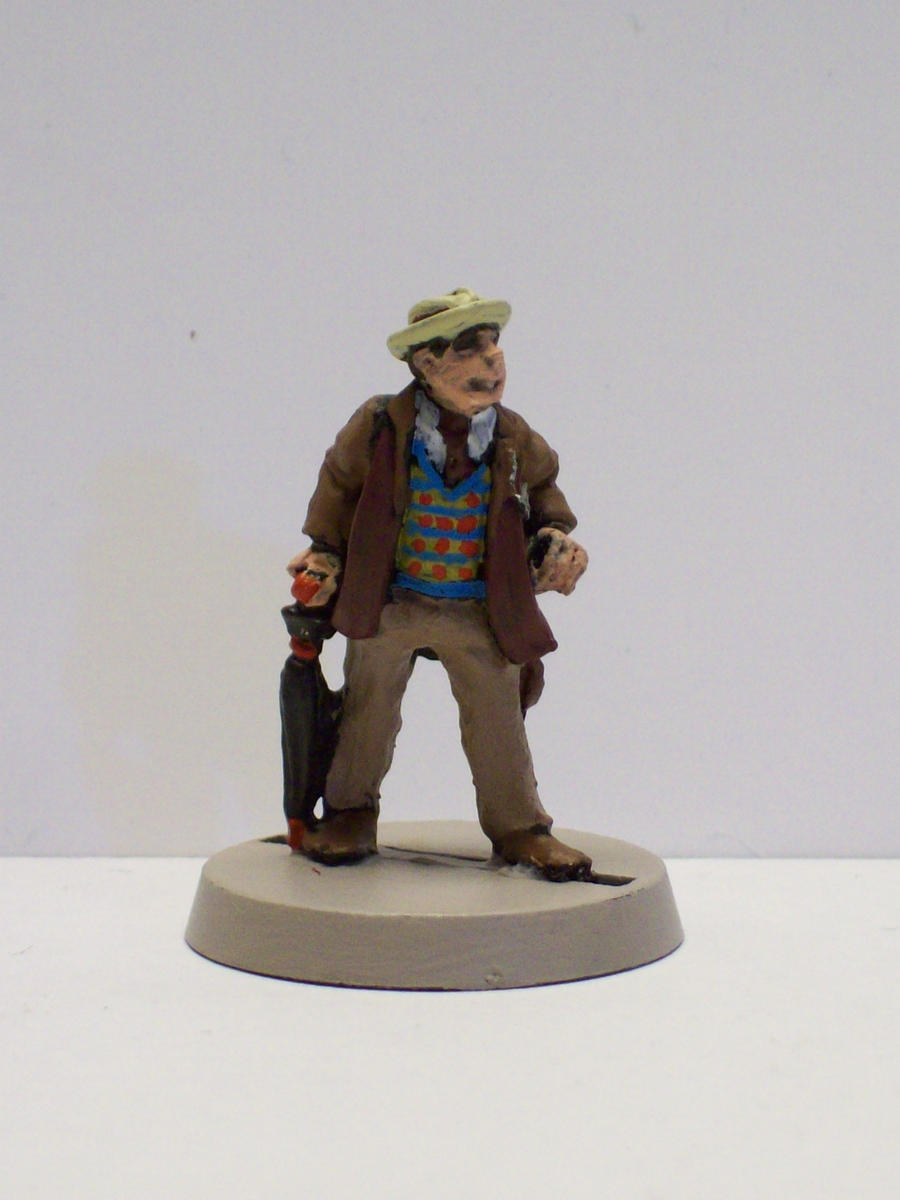 The Seventh Doctor by DoctorVorlon