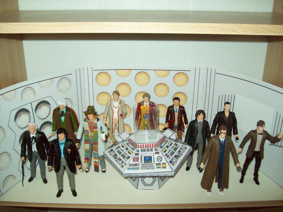 TARDIS Diorama by DoctorVorlon