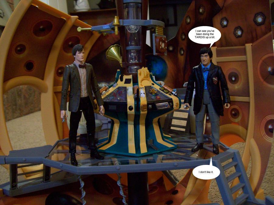 Eleven's TARDIS by DoctorVorlon