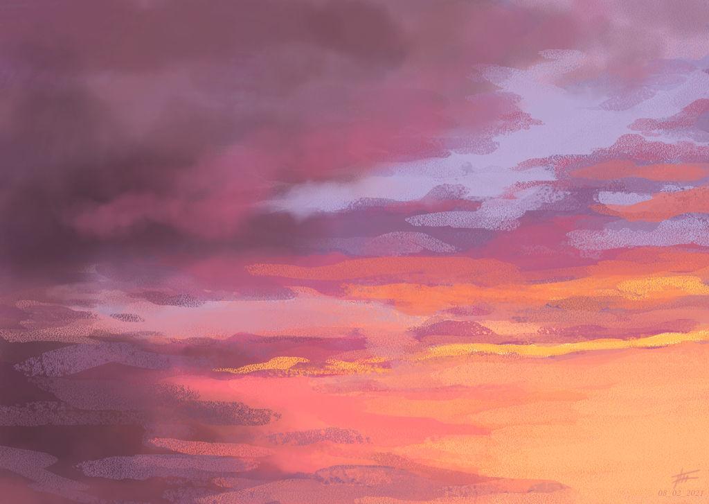 Sky sketch