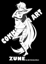 Zune - Commission 6 by Kureiji-Noa-To