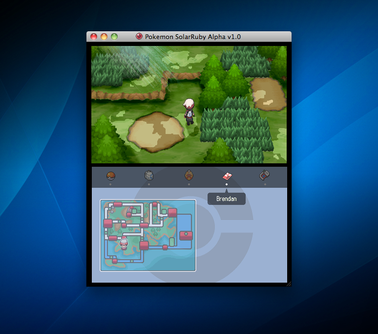 Project Pokemon SolarRuby First Screenshot! by jordanice42