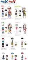 Pokemon XY Character Customization Catalog!