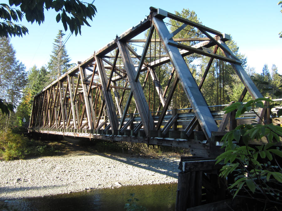 Wooden Over Truss Bridge By Foxfan1992 On Deviantart