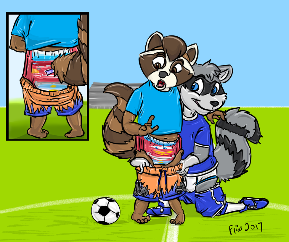 Pantsed on the 'Pitch! by Foxfan1992