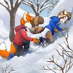 Snowpantsed! by Foxfan1992