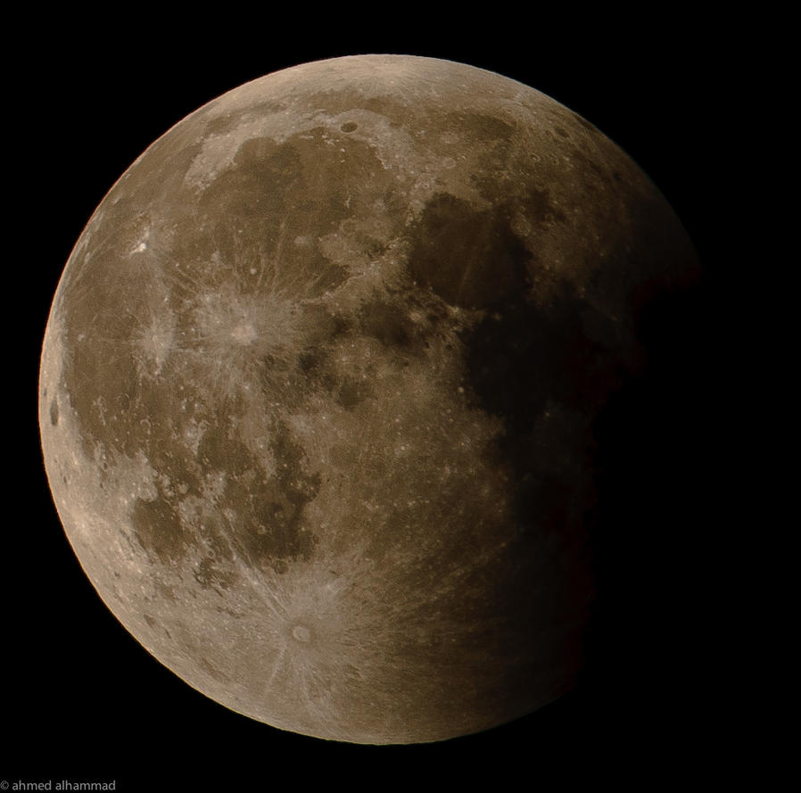 Lunar eclipse 15 jun 2011 by abo3ziz