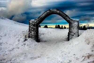 ice gate by abo3ziz