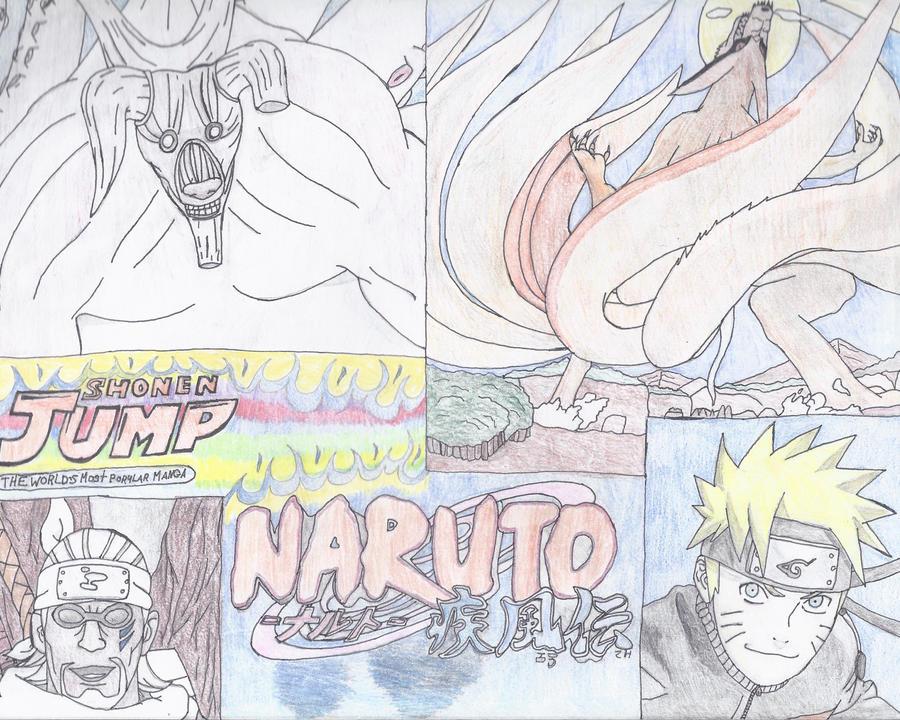 Naruto Shippuden by NINJAWERETIGER