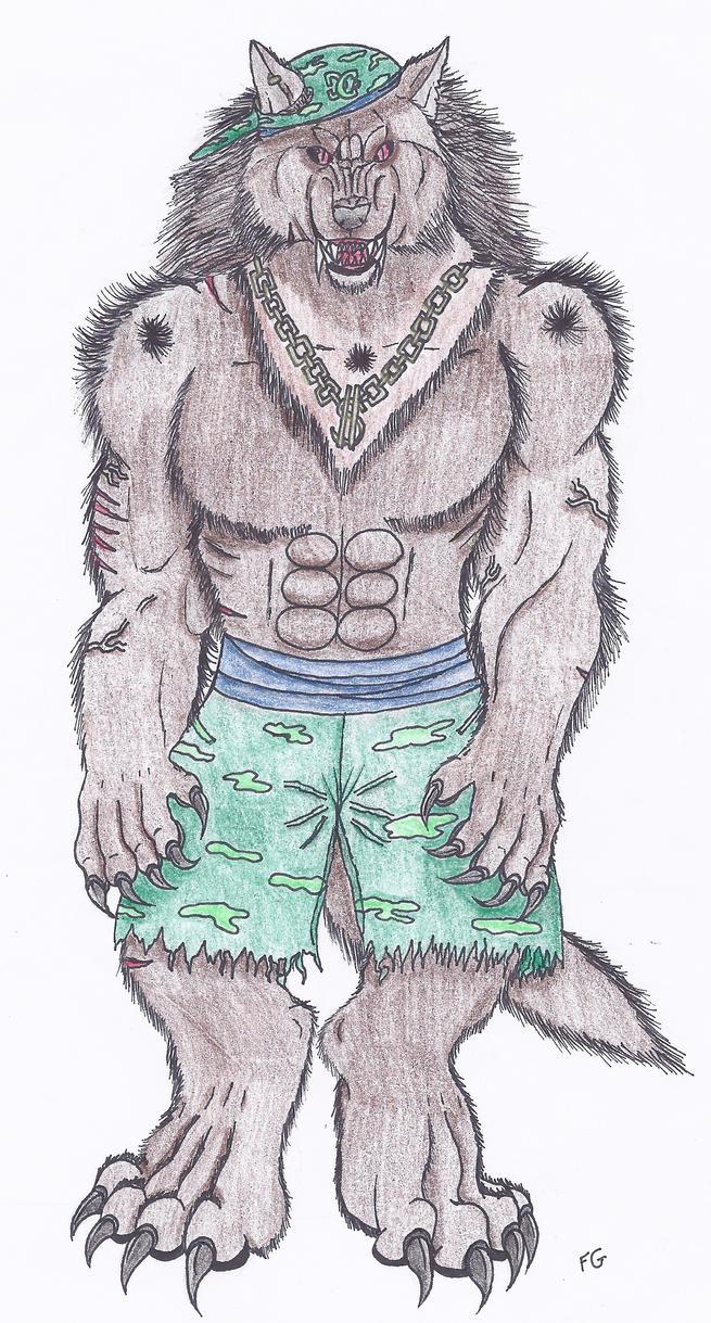 DC Werewolf by NINJAWERETIGER