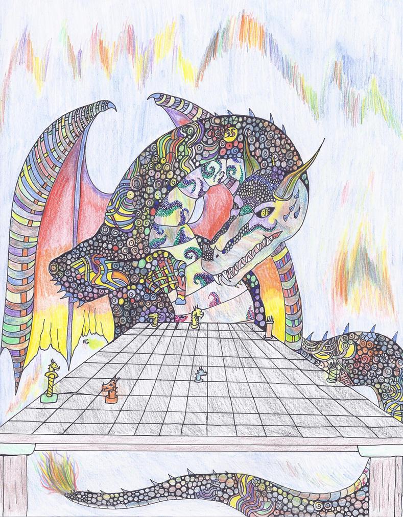 Dragon Chess by NINJAWERETIGER