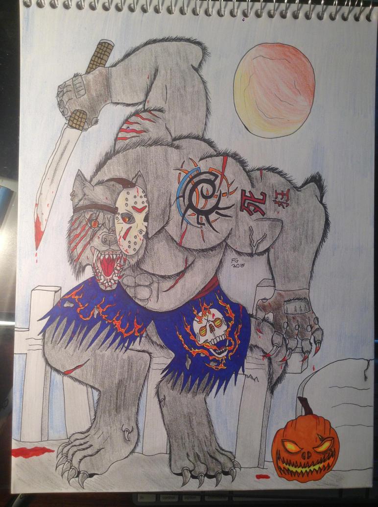 Jason Werewolf by NINJAWERETIGER