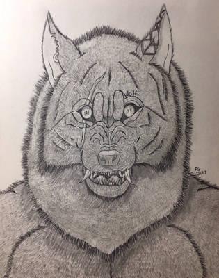 Tala the Werewolf by NINJAWERETIGER