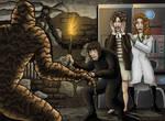 Gotho vs the Sludge Monster