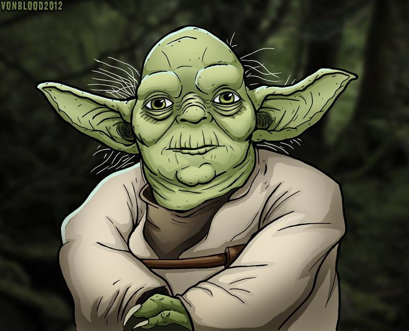 Yoda by vonblood